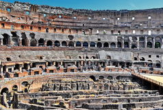 Inside roman colosseum Stock Photos