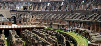 Roman Colosseum Interior Royalty Free Stock Photos