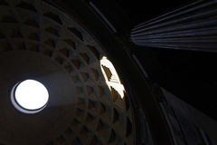 Inside Roman Pantheon Stock Photos