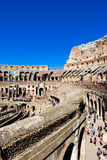 Inside of Rome Colosseum Royalty Free Stock Photos