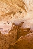 Inside 17 Room Ruins Ancestral Pueblo Royalty Free Stock Photography