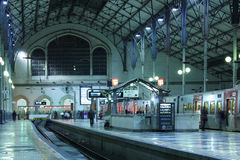 Inside Rossio Station. Lisbon. Portugal Royalty Free Stock Photos