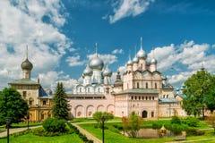 Inside the Rostov Kremlin in Rostov The Great, Russia Stock Photos