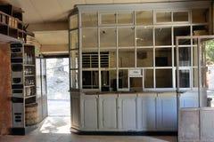 Inside the Roussillon ocher factory Stock Photo