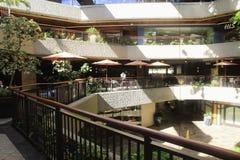Inside the Royal Hawaiian Center Royalty Free Stock Photo