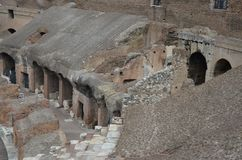 Inside The Colosseum, Roma, Italy Stock Image