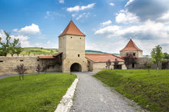 Inside Rupea Citadel, Brasov County, Romania Royalty Free Stock Image