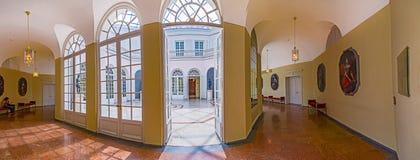 Inside sławna Monachium siedziba Zdjęcia Stock