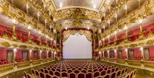 Inside sławny Monachium siedziby teatr Zdjęcie Royalty Free