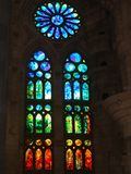 Inside Sagrada Familia II Royalty Free Stock Photo