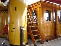 Inside the sailing ship Royalty Free Stock Photo