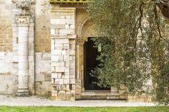 Inside saint Antimo Stock Images