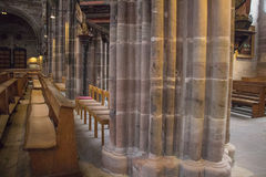 Inside the Saint Lorenz church. Nuremberg. Germany Stock Photo