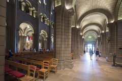 Inside the Saint Nicholas Cathedral, Monaco Stock Photos