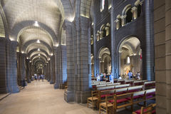 Inside the Saint Nicholas Cathedral, Monaco Stock Image