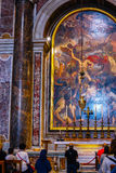 Inside Saint Peter's Basilica Stock Photography
