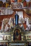 Inside of Saint Peter's Basilica stock photo