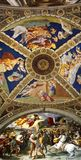 Inside of Saint Peter's Basilica stock photos