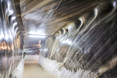 Inside of salt mine Stock Photos
