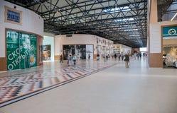 Inside of the Samara hypermarket Ambar Stock Photos