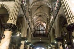Inside San Agustin kościół od losu angeles Hawańskiego, Kuba Zdjęcia Stock