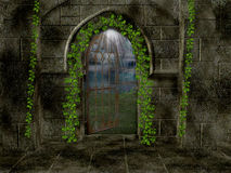 Inside Sanctuary Background Royalty Free Stock Images