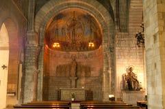 Inside of Sant Pere de les Puel.les Church Stock Photography