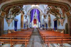 Inside Santa Marinha convent Royalty Free Stock Photography