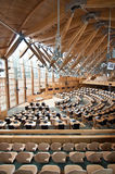 Inside the Scottish Parliament in Holyrood Royalty Free Stock Images
