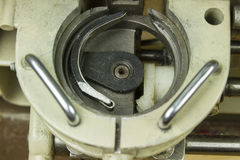 Inside sewing machine Royalty Free Stock Image
