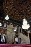 Inside Sharena Mosque, Macedonia, Tetovo. Macedonia, Tetovo, Decorated Mosque a.k.a Sharena Dzhamija/Xhamia e Pashes Royalty Free Stock Photography