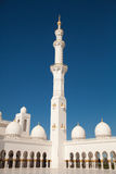 Inside the Sheikh Zayed Mosque in Abu Dhabi Royalty Free Stock Photography