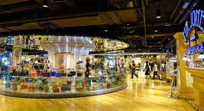 Inside of shopping mall in Bangkok, Thailand Stock Photo