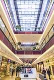 Inside the shopping mall Galeria Krakowska in Krakow Stock Photography