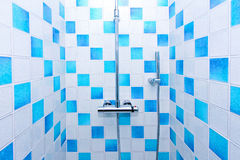 Inside shower Royalty Free Stock Photo