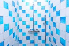 Inside shower royalty free stock photo