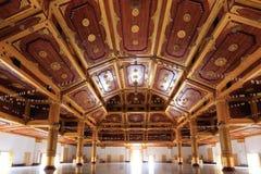Inside the Shwe Nan Daw temple in Mandalay Stock Photos