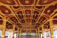 Inside the Shwe Nan Daw temple in Mandalay Royalty Free Stock Photos