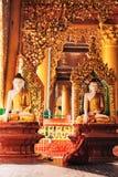 Inside Shwedagon Pagoda Stock Photography