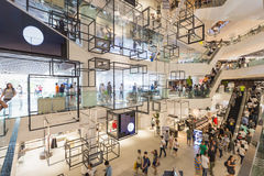 Inside Siam Discovery stock images