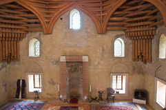 Inside of Siklos mosque. Hungary stock photos