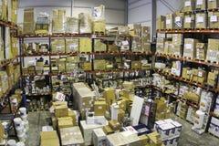 Inside sklepu magazyn 011 Zdjęcia Royalty Free