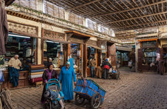 Inside the souk, Fez Stock Photos