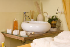 Inside Spa Room Royalty Free Stock Photography