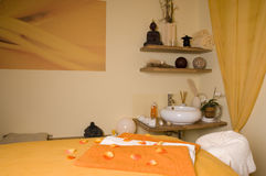 Inside spa room Stock Images