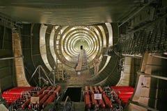 Inside Space Shuttle stock photos