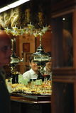 Inside a Spanish Pub. Tapas inside a Spanish pub in Barcelona stock images
