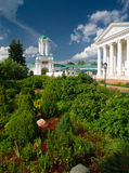Inside Spaso-Yakovlevsky Monastery in Rostov Stock Photos