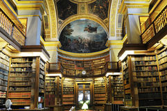 Inside Splendid  library in France Prime Mini Royalty Free Stock Images