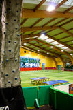 Inside a sport centre Stock Image